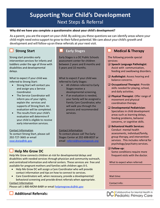 Healthcheck Dc Child And Adolescent Mental Health Resource Guide