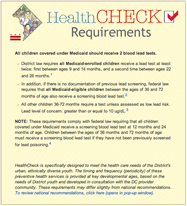 DC HealthCheck Requirements